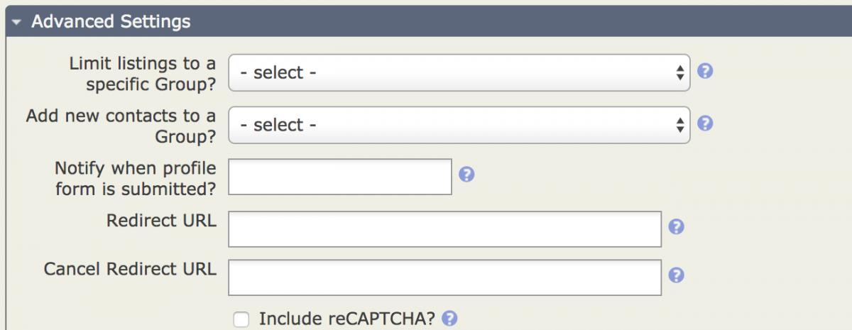 I am not a robot! Adding reCAPTCHA to Profiles